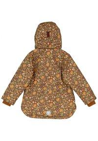 Wheat - ELDA TECH - Winter jacket - maroon flowers - 1