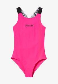 Calvin Klein Swimwear - SWIMSUIT INTENSE POWER - Swimsuit - pink - 2