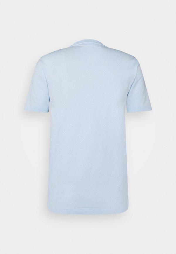 Calvin Klein FRONT LOGO - T-shirt z nadrukiem - blue/jasnoniebieski Odzież Męska NKDI