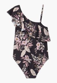 Seafolly - FRILL BOHO BEACH - Swimsuit - black - 1