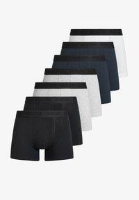 black/grey/navy/white