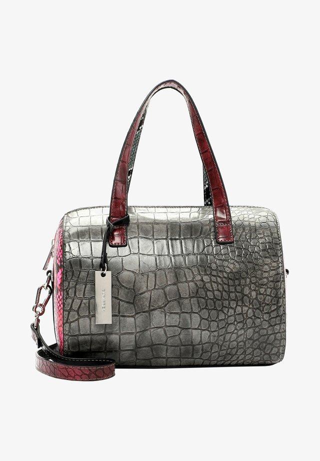 BERLY - Handbag - mottled grey