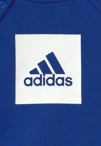adidas Performance - LOGO SET UNISEX - Tracksuit - white/team royal blue/medium grey heather - 3