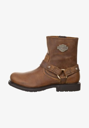 SCOUT - Cowboy/biker ankle boot - brown