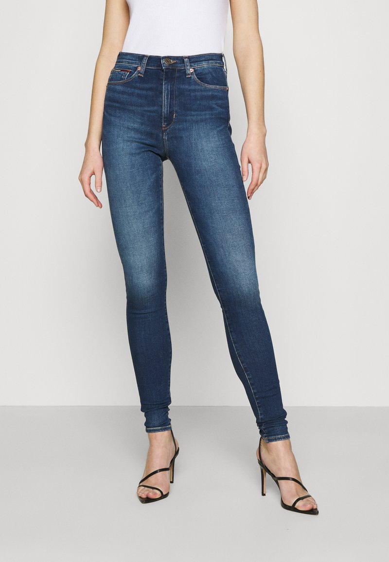 Tommy Jeans - SYLVIA CE 133 MID BLUE STRETCH - Jeans Skinny Fit - mid blue