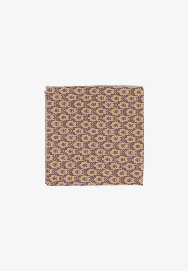 TANTE MARTA - Pocket square - braun