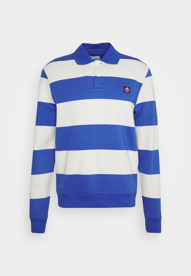 WICKFORD STRIPE - Polo - farah purple blue