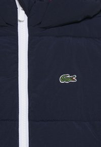 Lacoste - Winter jacket - navy blue/red - 2