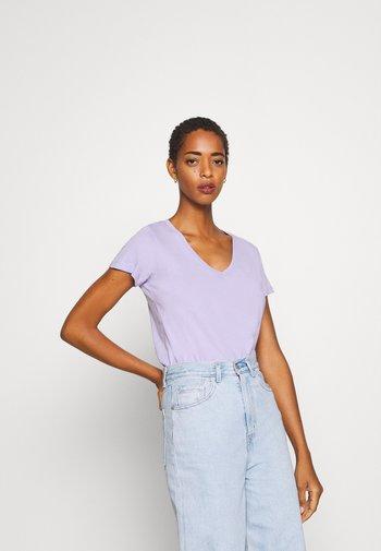 2 PACK - T-shirts - lilac/dark blue