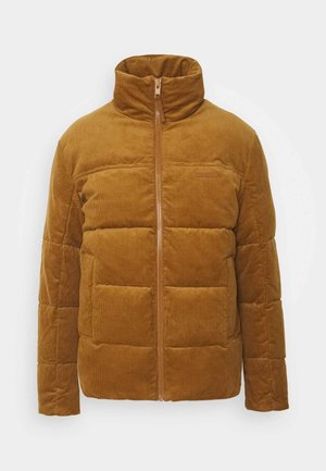 JORCORDUROY PUFFER - Winter jacket - rubber