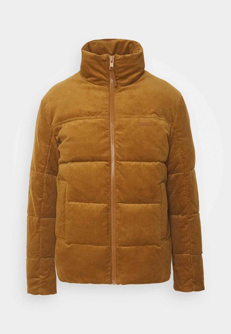 Jack & Jones - JORCORDUROY PUFFER - Winter jacket - rubber