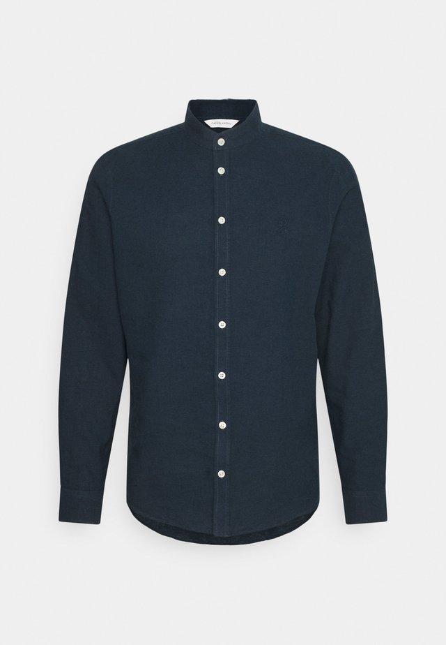 ANTON DETACHABLE COLLAR - Camicia - navy blazer