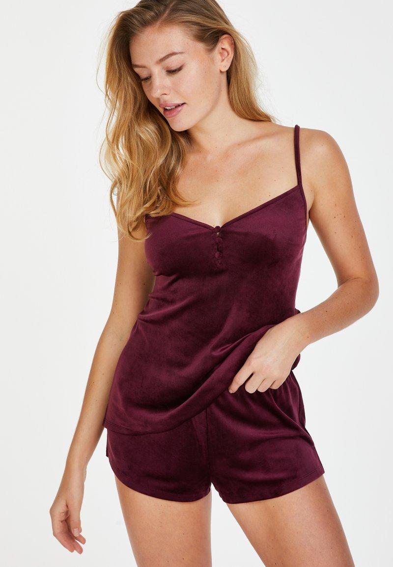 Hunkemöller - Pyjama bottoms - red