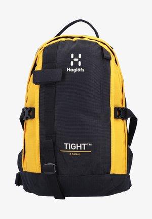 TIGHT X-SMALL - Rucksack - true black/pumpkin yellow