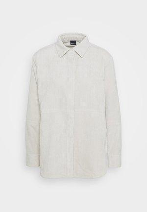 CORY - Button-down blouse - whitecap gray