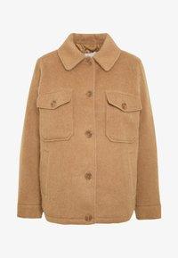 JACKET - Summer jacket - tan