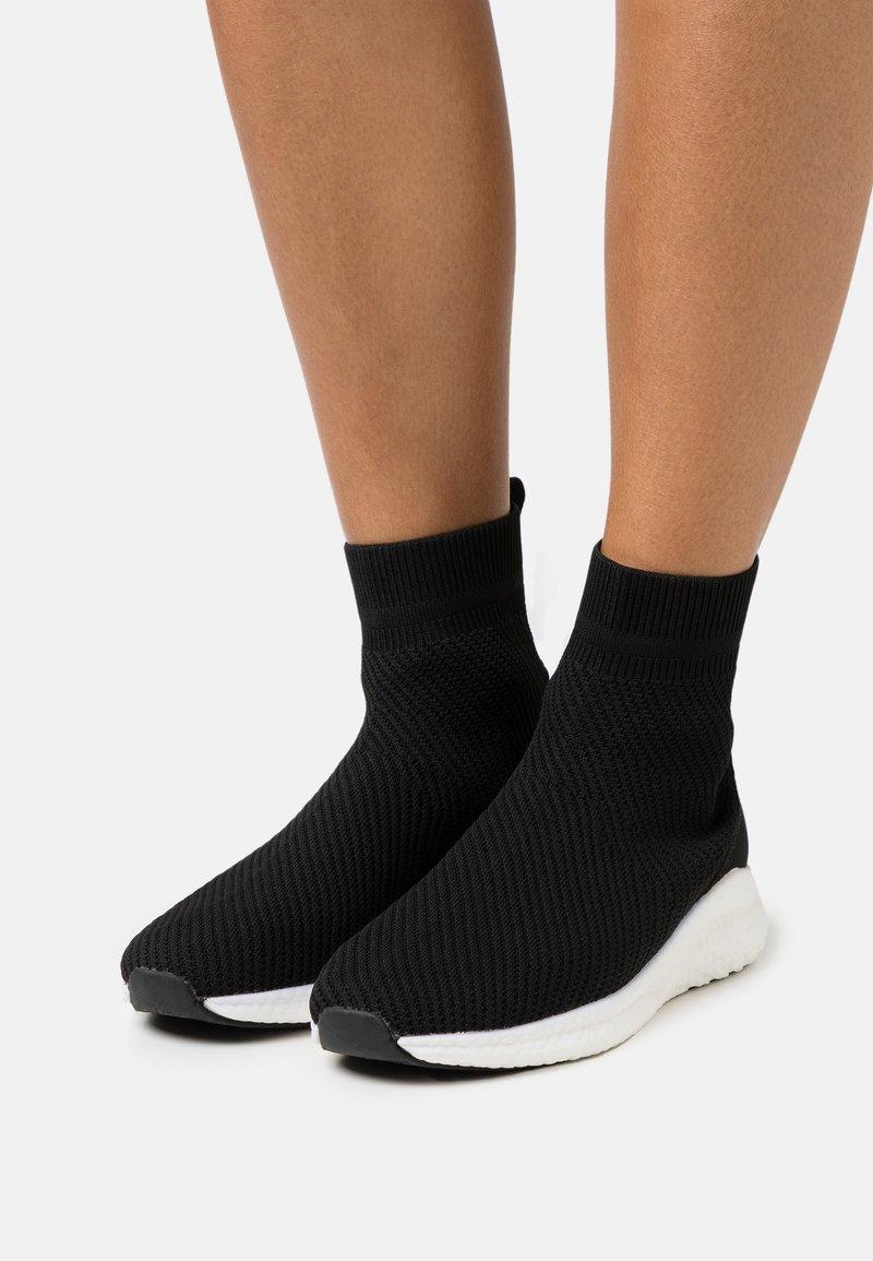 Bianco - BIACHARLEE  - Zapatillas altas - black