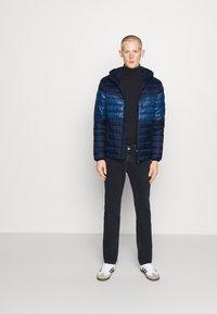 Calvin Klein - HOODED JACKET - Light jacket - blue - 1