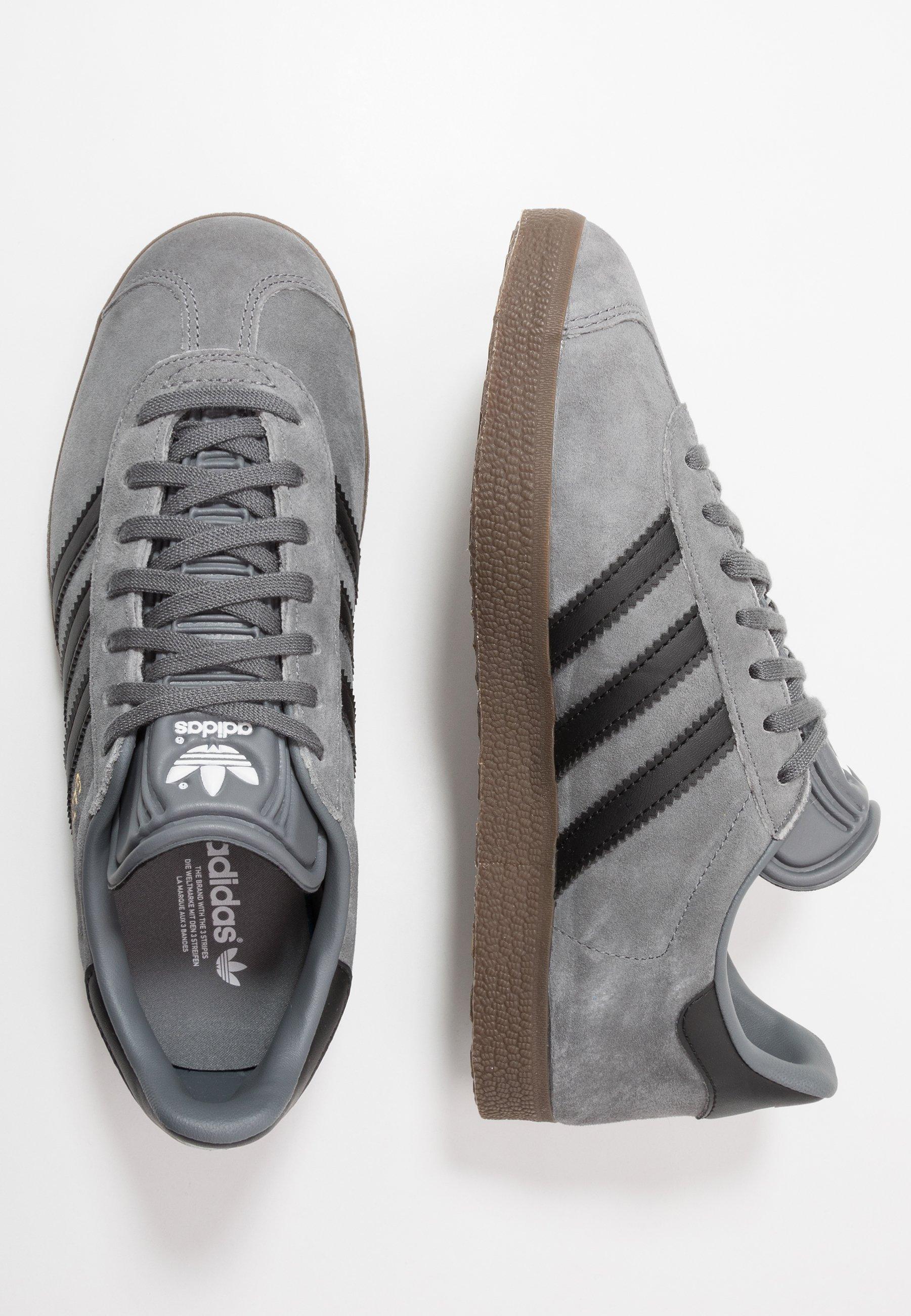 adidas Originals GAZELLE Joggesko grey fourcore black