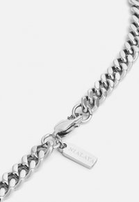 Nialaya - CUBAN LINK CHAIN NECKLACE UNISEX - Necklace - silver-coloured - 2