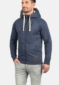 Blend - SPEEDY - Zip-up hoodie - navy - 0