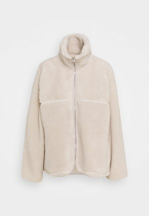 Fleece jacket - white dusty light