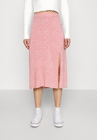 Hollister Co. - SLIP SKIRT - A-line skirt - coral - 0