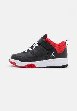 MAX AURA 3 UNISEX - Zapatillas de baloncesto - black/white/university red