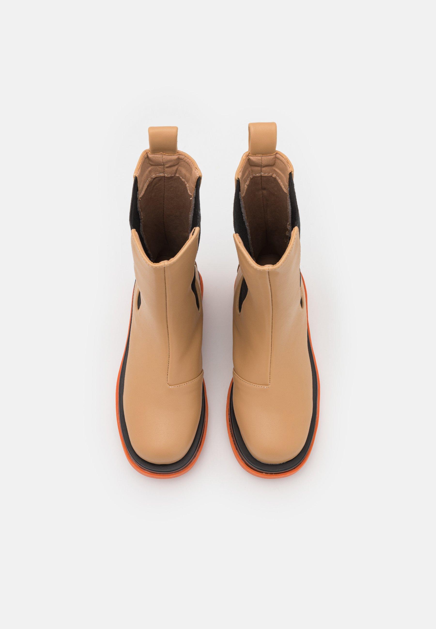 Women KENDALL - Platform boots - camel
