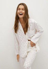 Mango - NIT-I - Pyjama top - hvit - 0