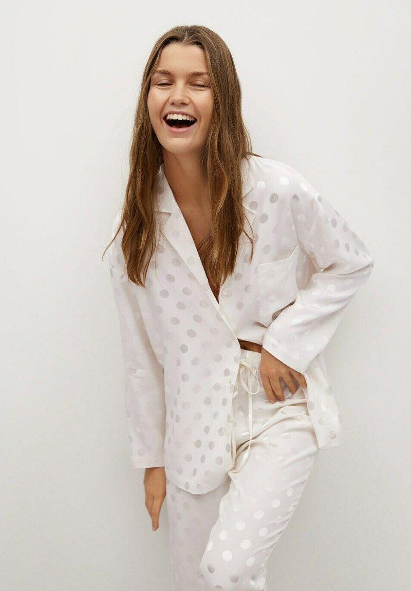 Mango - NIT-I - Pyjama top - hvit