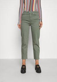 BLANCHE - AVELON - Straight leg jeans - agave green - 0