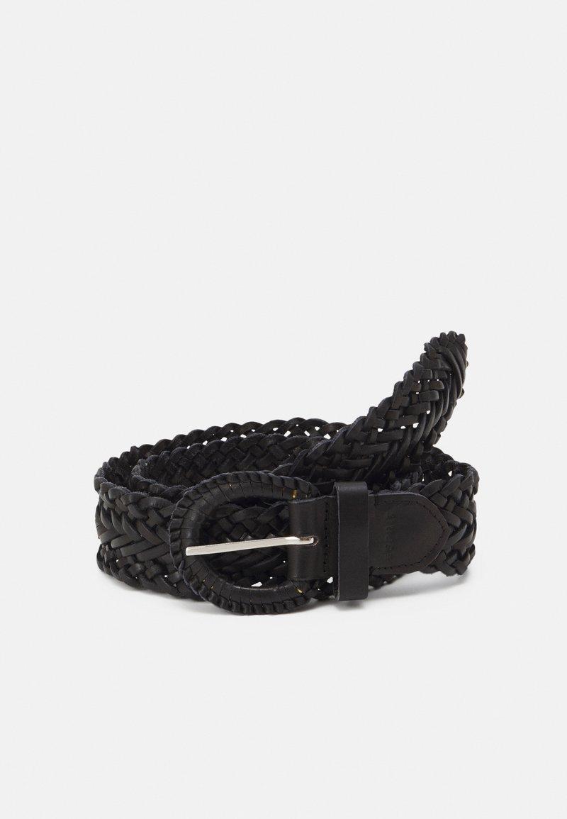 Esprit - BRAIDED - Pletený pásek - black