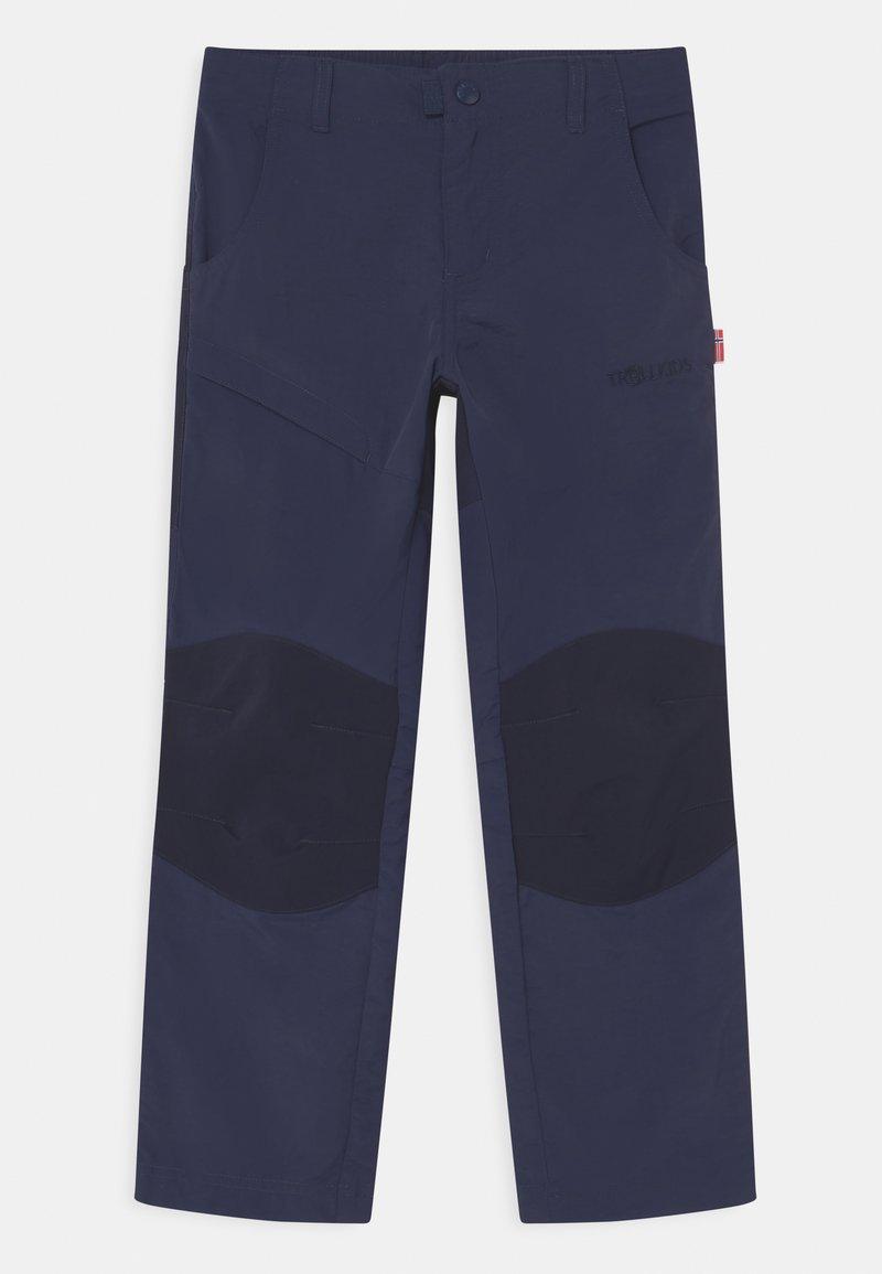 TrollKids - HAMMERFEST PRO UNISEX - Outdoor trousers - navy