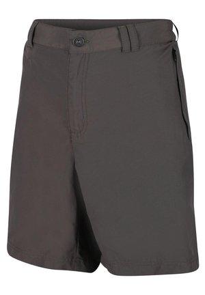 REGATA LEESVILLE SHORTS II KURZE WANDERHOSE HERREN TREKKINGHOSE  - Outdoor shorts - light grey