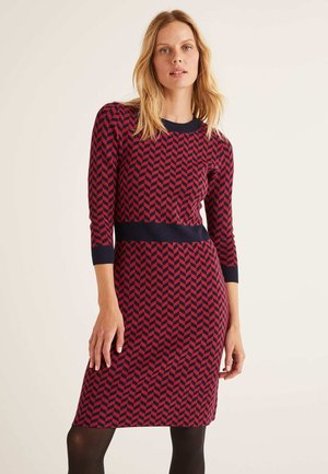 PHOEBE  - Jumper dress - burgundy