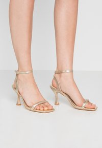 Head over Heels by Dune - MINKA - High heeled sandals - gold - 0