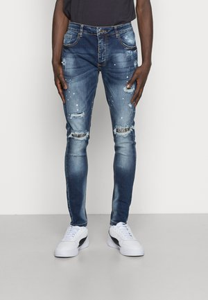 DAMIANO - Skinny džíny - blue wash