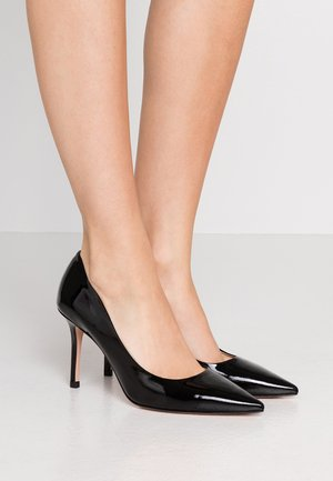 INES - Højhælede pumps - black