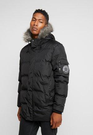 THORIUM - Zimní kabát - black