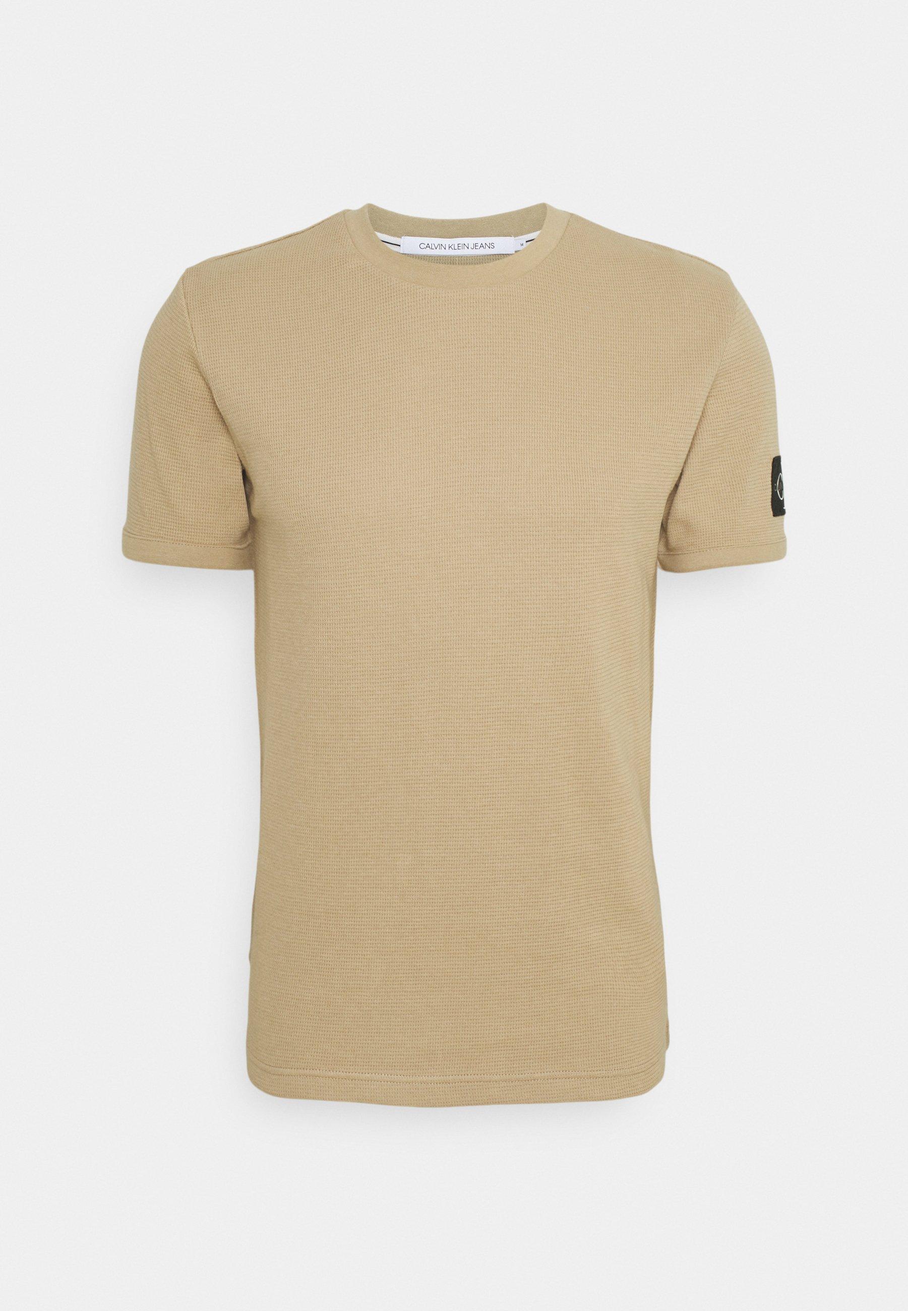 Homme MONOGRAM BADGE WAFFLE TEE - T-shirt imprimé