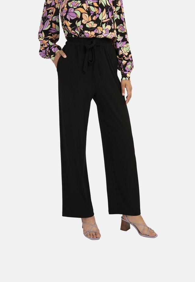PASQUALINE - Pantalon classique - black