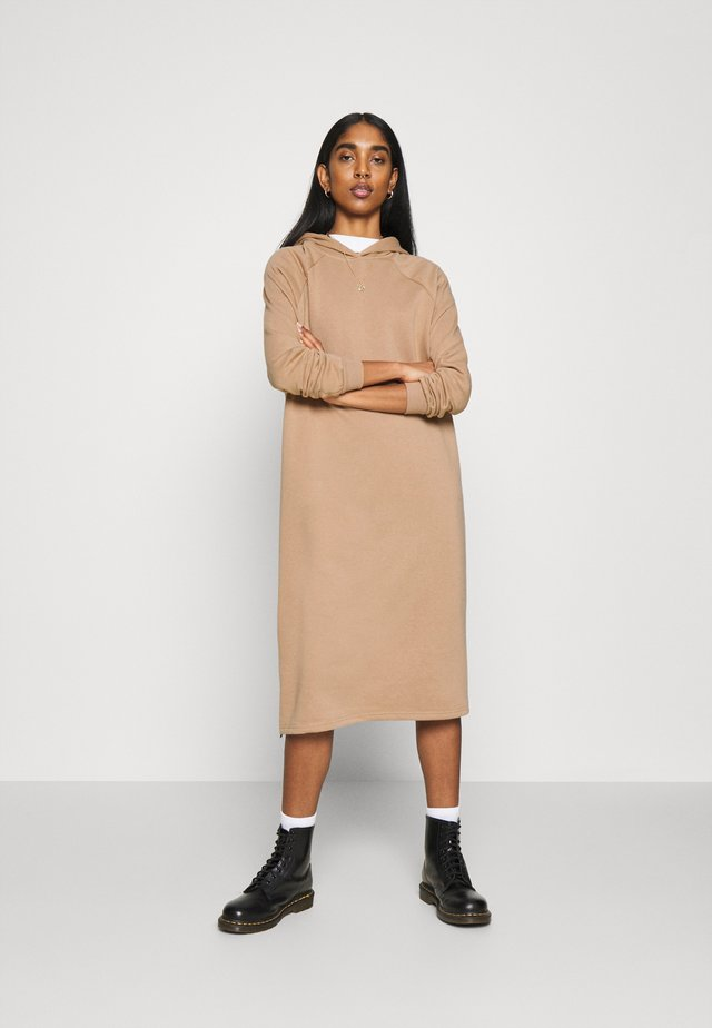 NMHELENE DRESS - Day dress - praline