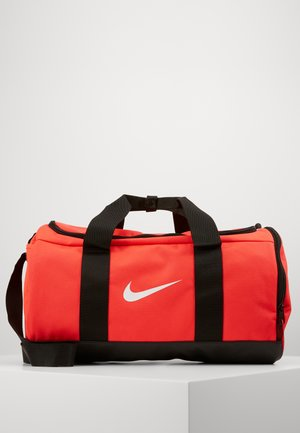 TEAM DUFFLE - Sports bag - laser crimson/black/white