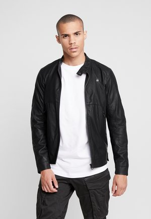 MOTAC BIKER - Faux leather jacket -  black