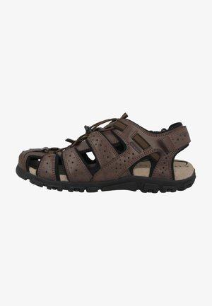 UOMO STRADA - Walking sandals - brown