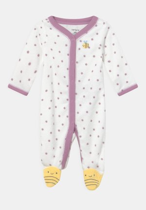 BEE - Sleep suit - white/yellow