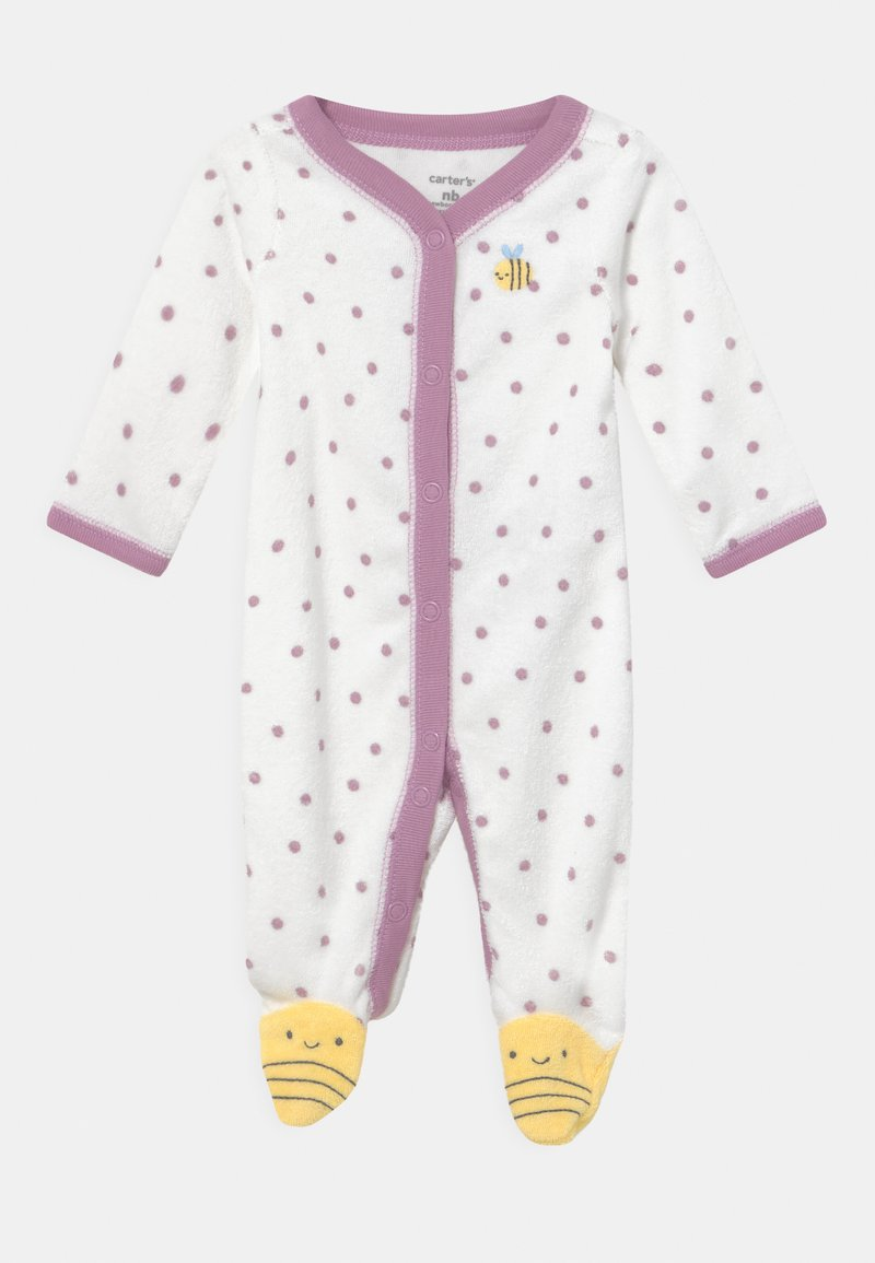 Carter's - BEE - Sleep suit - white/yellow
