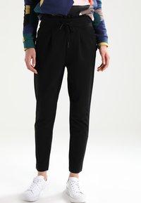 ONLY - ONLPOPTRASH  - Trousers - black - 0