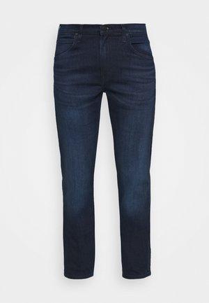 DAREN ZIP FLY - Jeans straight leg - dark-blue denim/blue